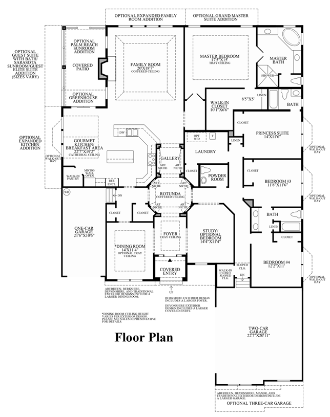 Hasentree Executive Collection The Raphael Home Design - View floor plans
