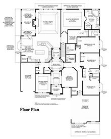 Audubon - Floor Plan