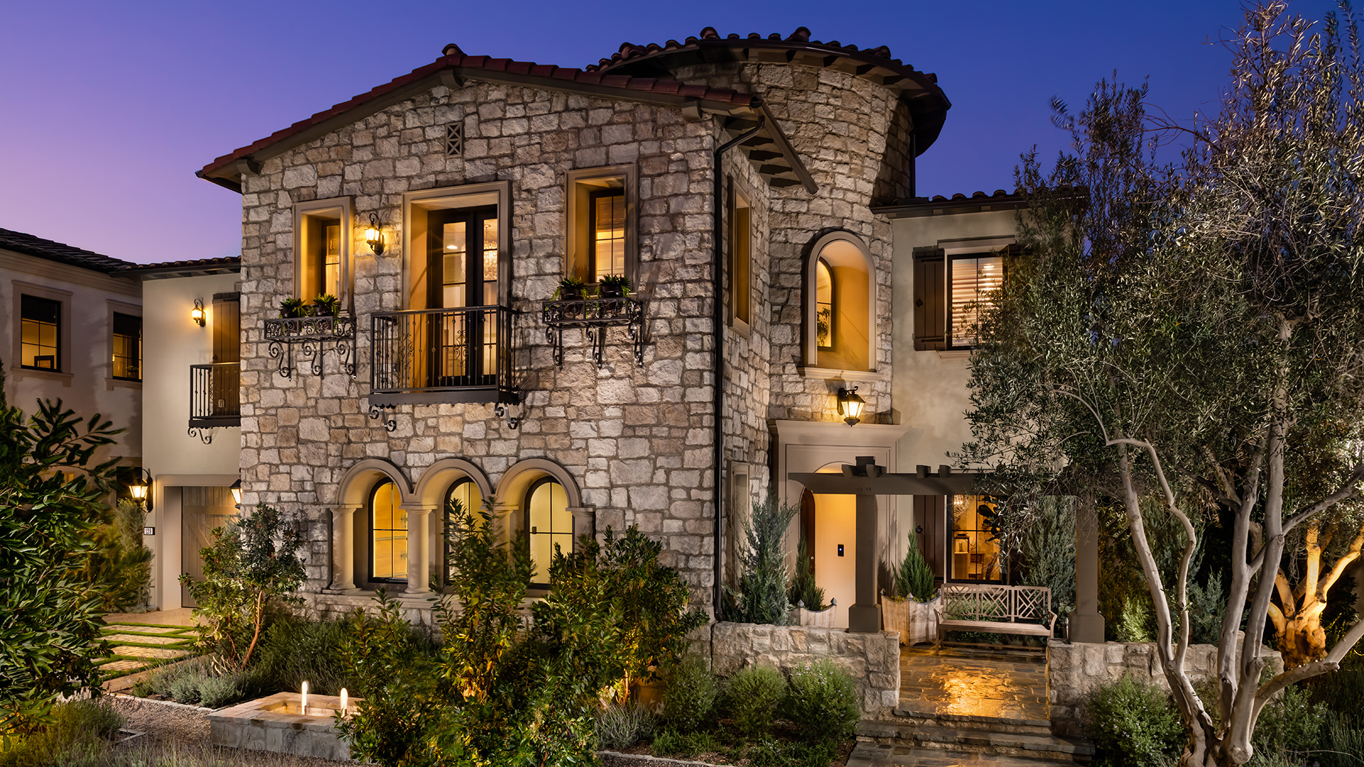 tuscan home design. Avalon Tuscan Toll Brothers at Hidden Canyon  Marbella Collection Quick
