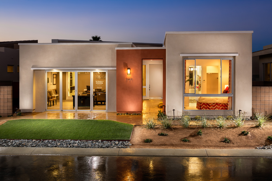 Front Elevation Luxury Homes : New luxury homes for sale in palm springs ca toll