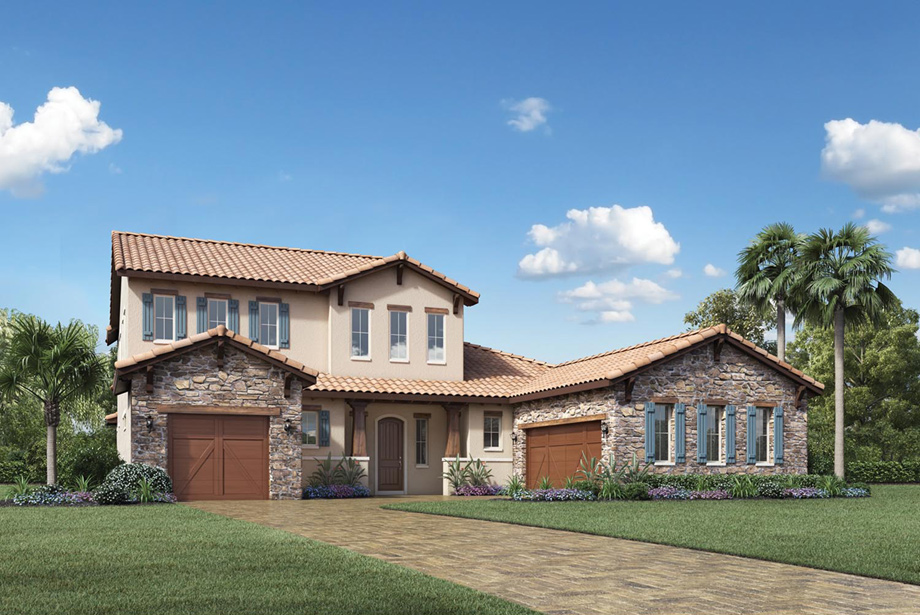 Lakeshore estates collection the avanti home design for Lakeshore design builders