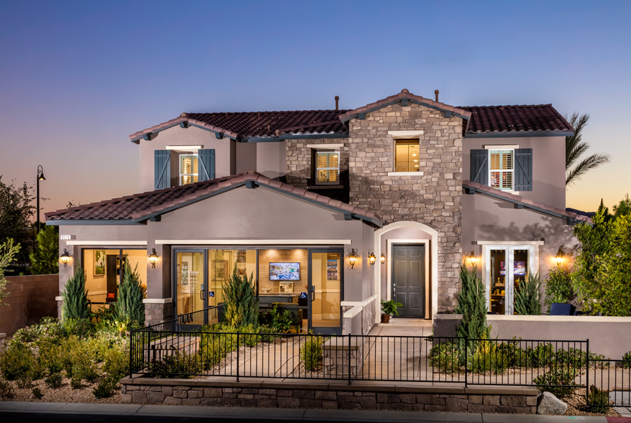 Toll brothers model home tours
