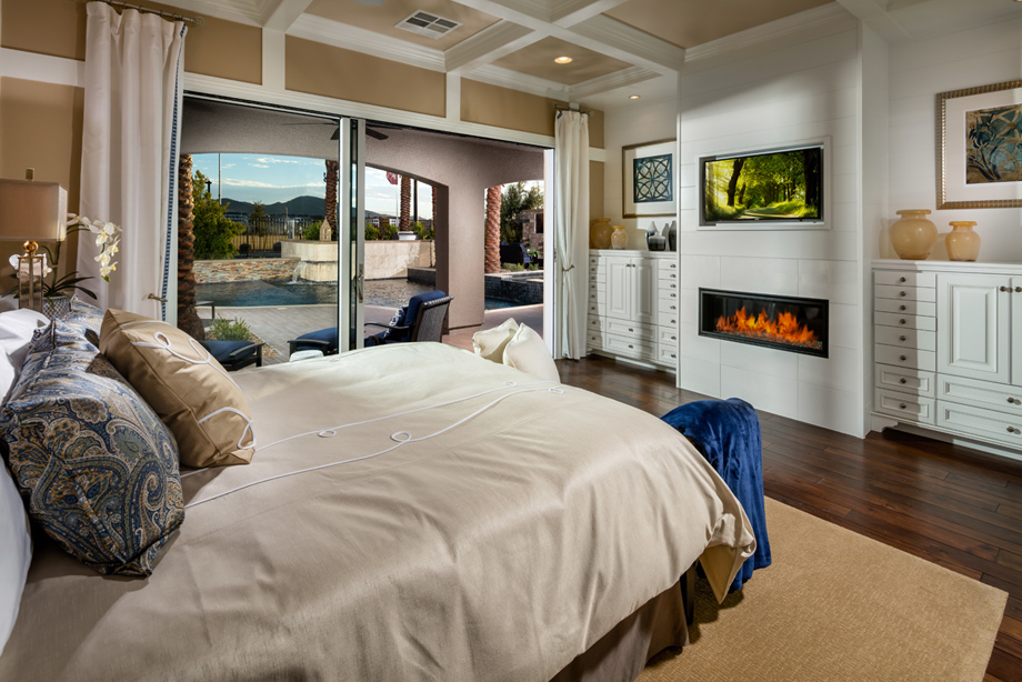 Henderson nv new homes for sale toll brothers at for Model home master bedrooms