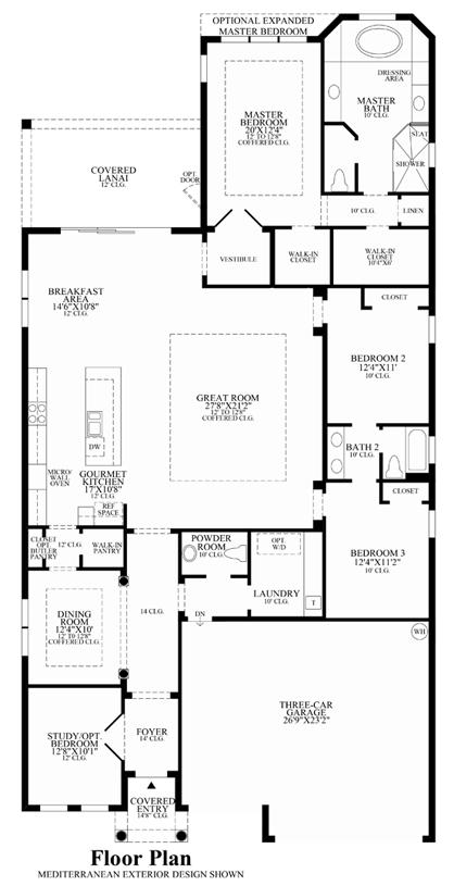Aviano - Floor Plan