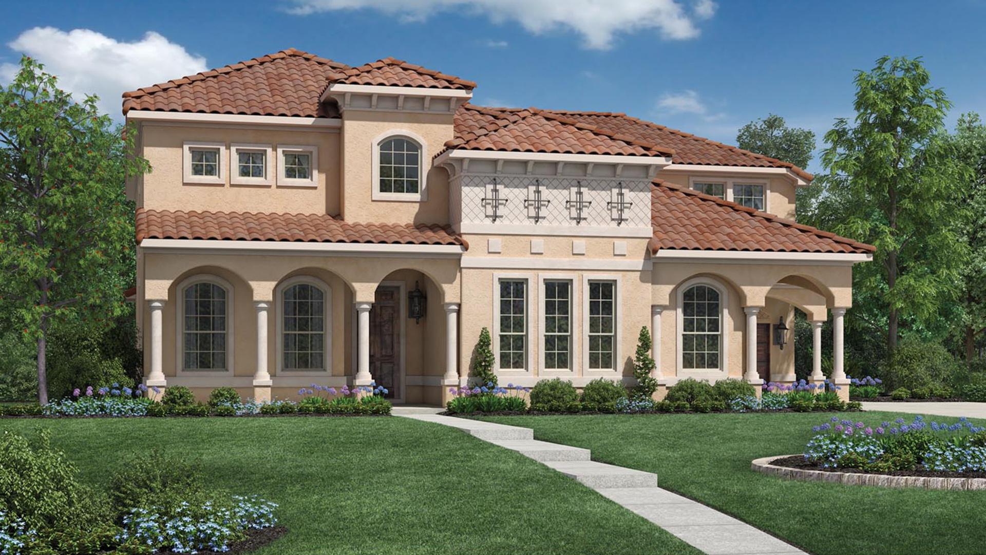 Star trail the avila home design for Star home designs