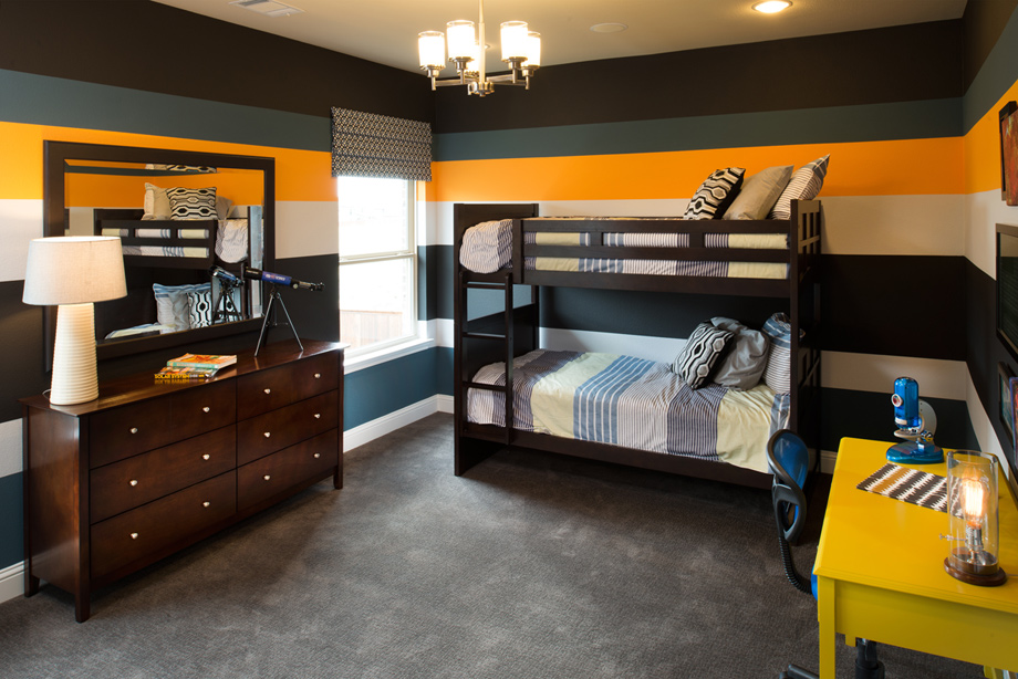 Preserve at flower mound the avila home design for Upstairs bedroom ideas