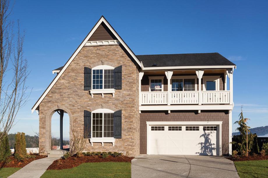 Crestview The Ballard With Basement Home Design