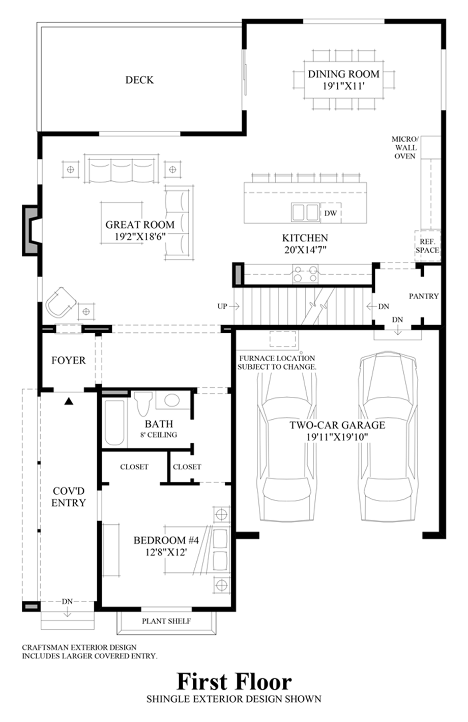 Crestview The Ballard With Basement Home Design