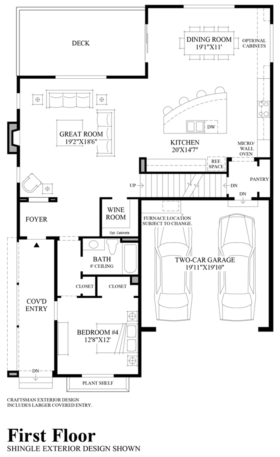 Pipers glen the ballard with basement home design for Floor plans first
