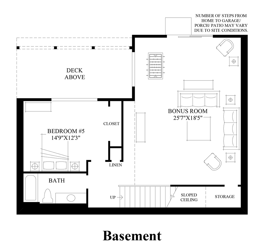 Sequoia Glen Executive The Ballard With Basement Home