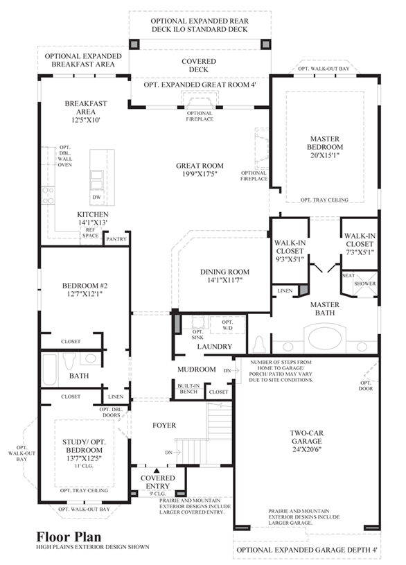 Bancroft - Floor Plan