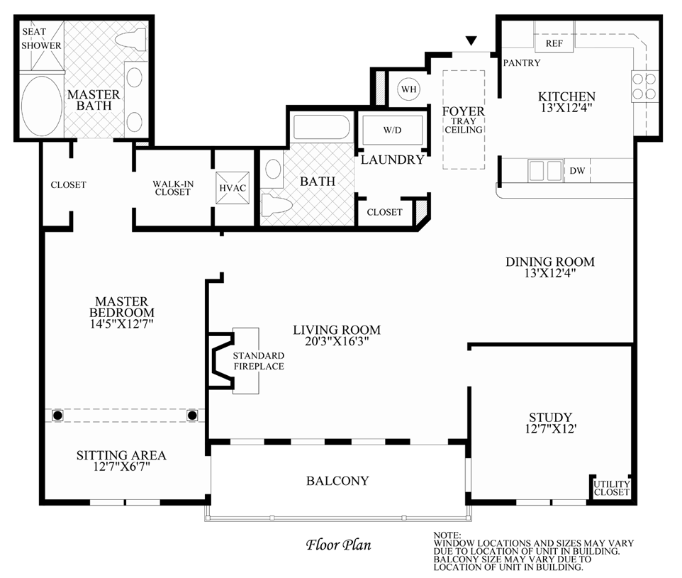 Baron - Floor Plan
