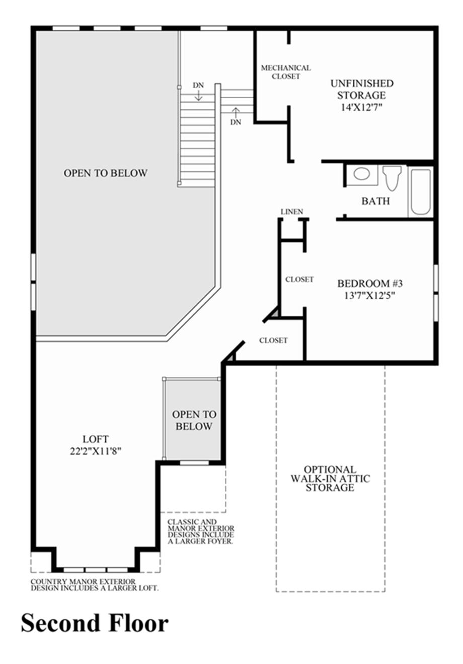 Barrington floor plan for Barrington floor plan