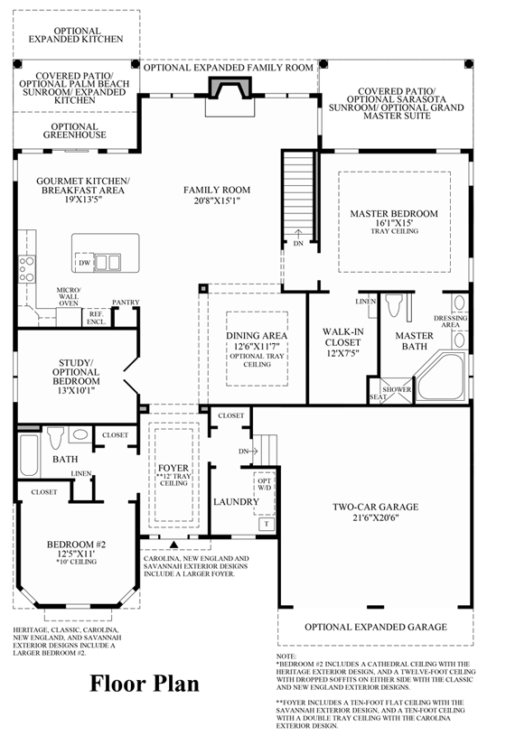 Bayhill - Floor Plan