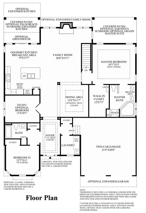 Bayhill - Floor Plan