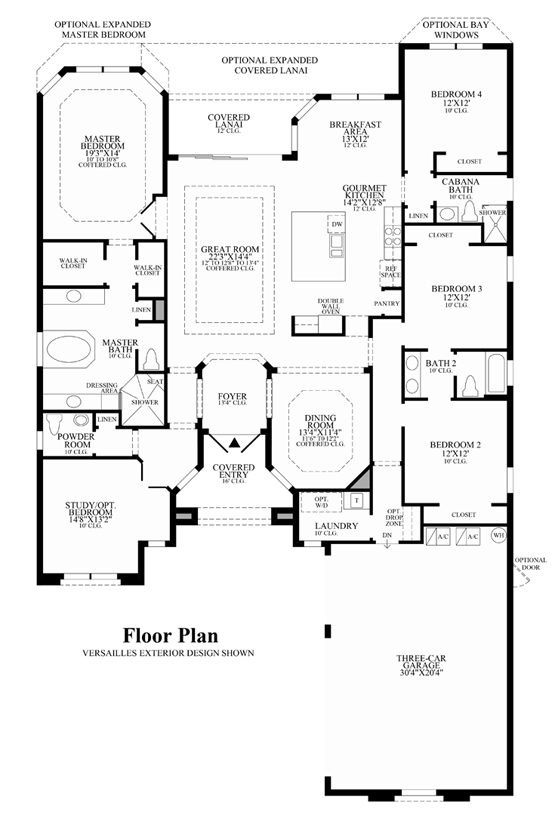 Beaumont - Floor Plan