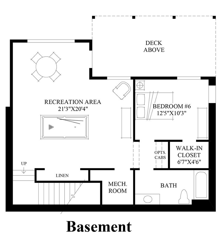 Pipers glen the beaumont with basement home design - Basement design tool ...