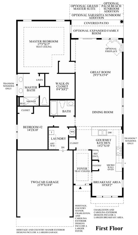 Bedford - Floor Plan