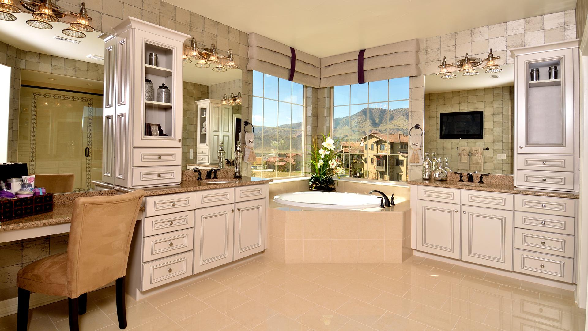 The highlands at parker quick delivery home bella craftsman for Bella bathrooms