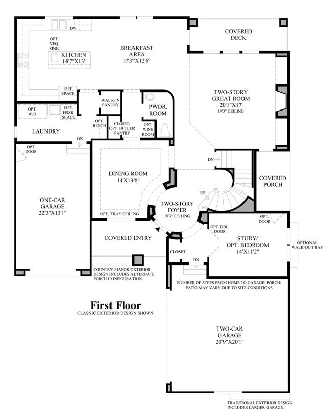 Bellvue Country Manor - 1st Floor