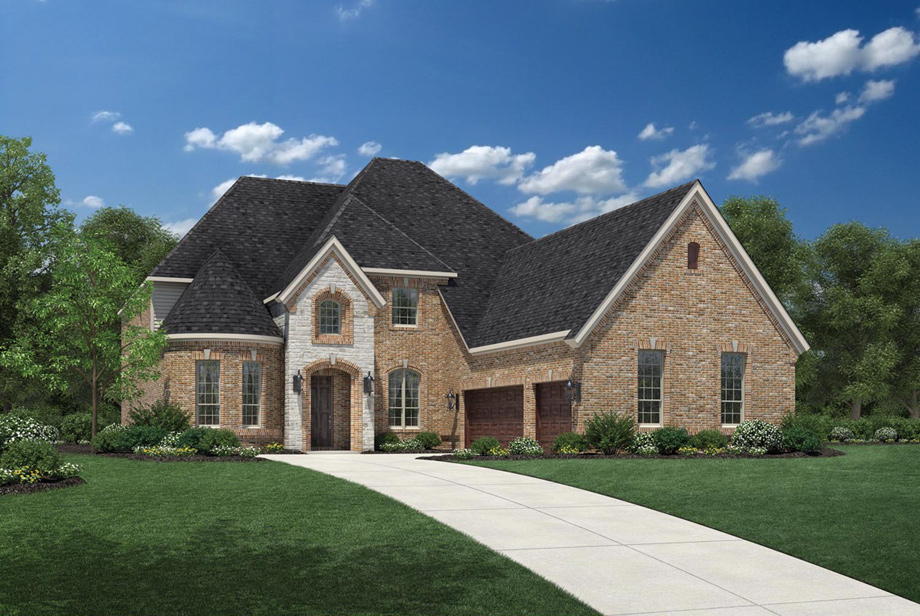 Creekside at heritage park the bellwynn home design for Texas fine home builders