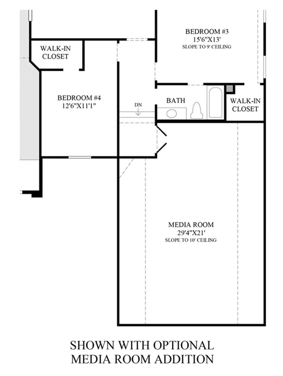 Preserve at flower mound the bellwynn home design for Room addition design