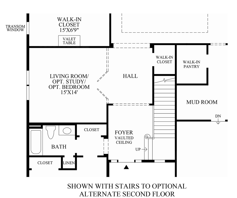 100 Floor Plans With Stairs Cottage House