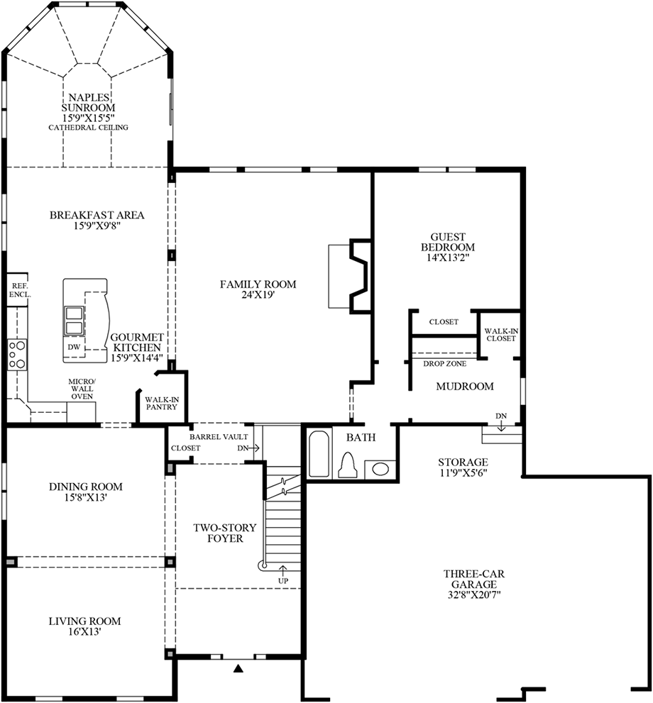 1st Flor Floor Plan