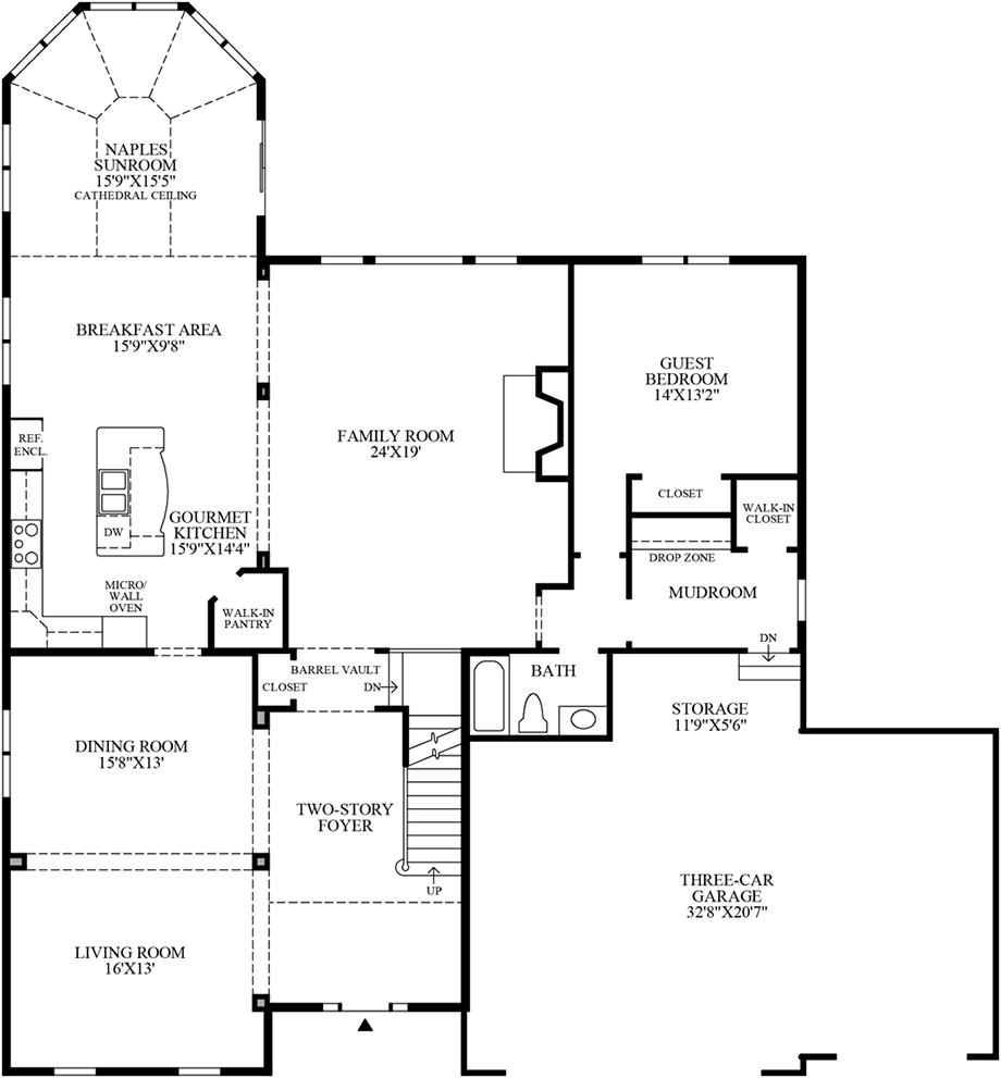 1st Flor Floor Plan