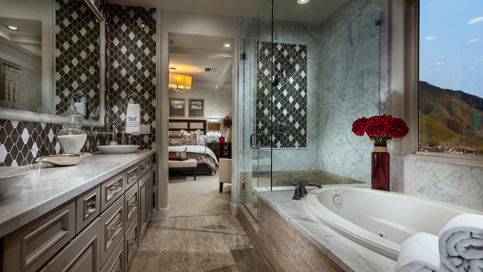 Old World Bathroom Design Ideas: Toll Brothers® Luxury Homes