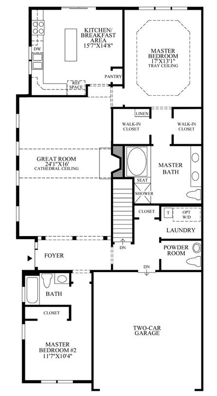 Bethel - Floor Plan