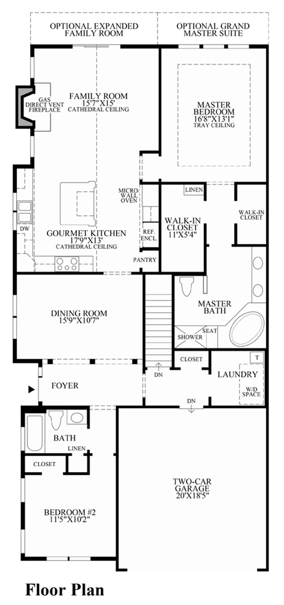 Enclave at upper makefield the bethel home design for Bethel kitchen designs