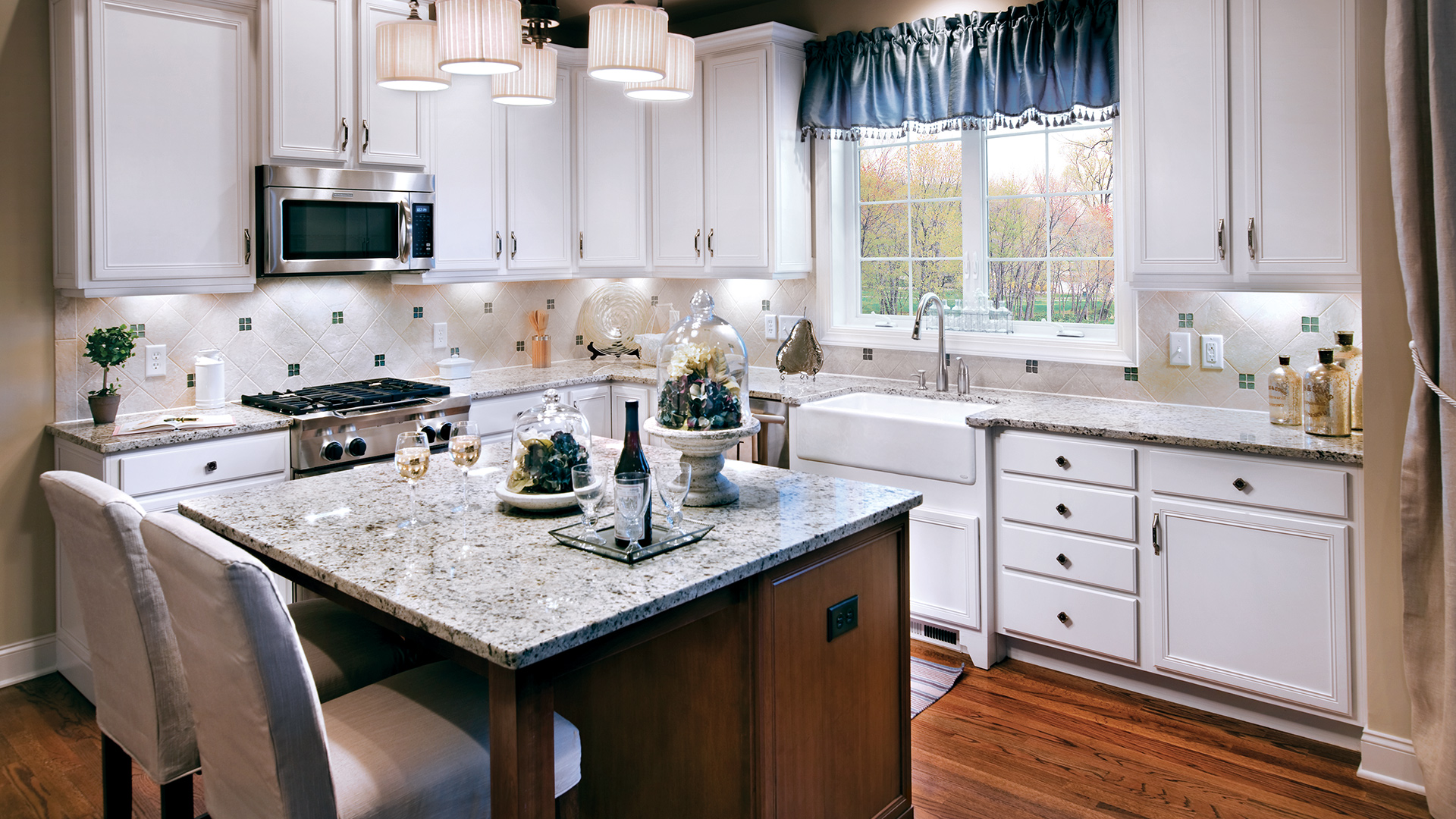 Rivington by toll brothers the enclave collection quick for Bethel kitchen designs