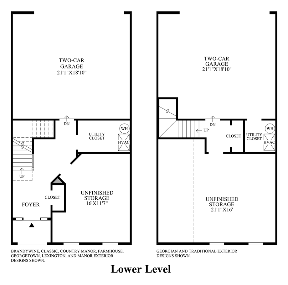 Lower Level Floor Plan