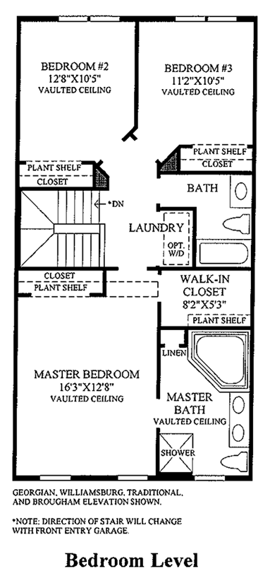 Bethesda Traditional - Bedroom Level