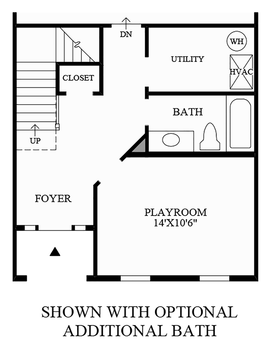Optional Additional Bath Floor Plan