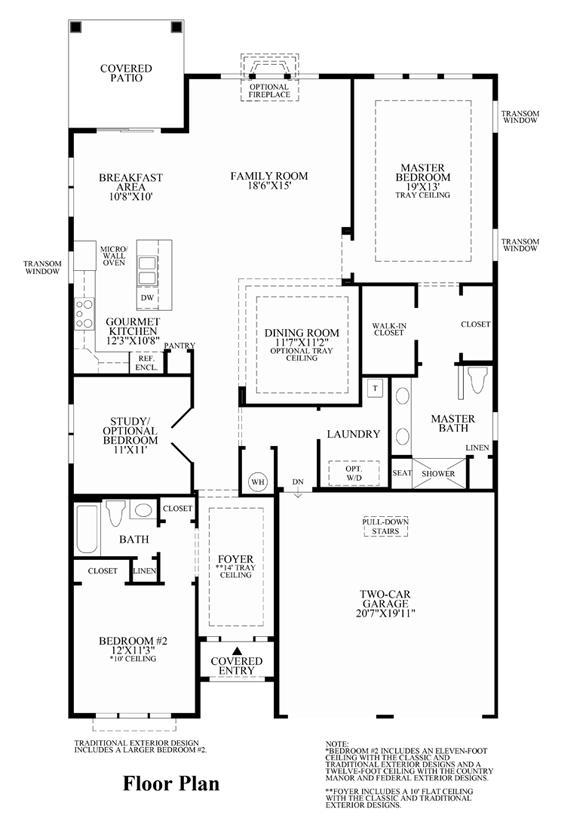 Binghamton - Floor Plan