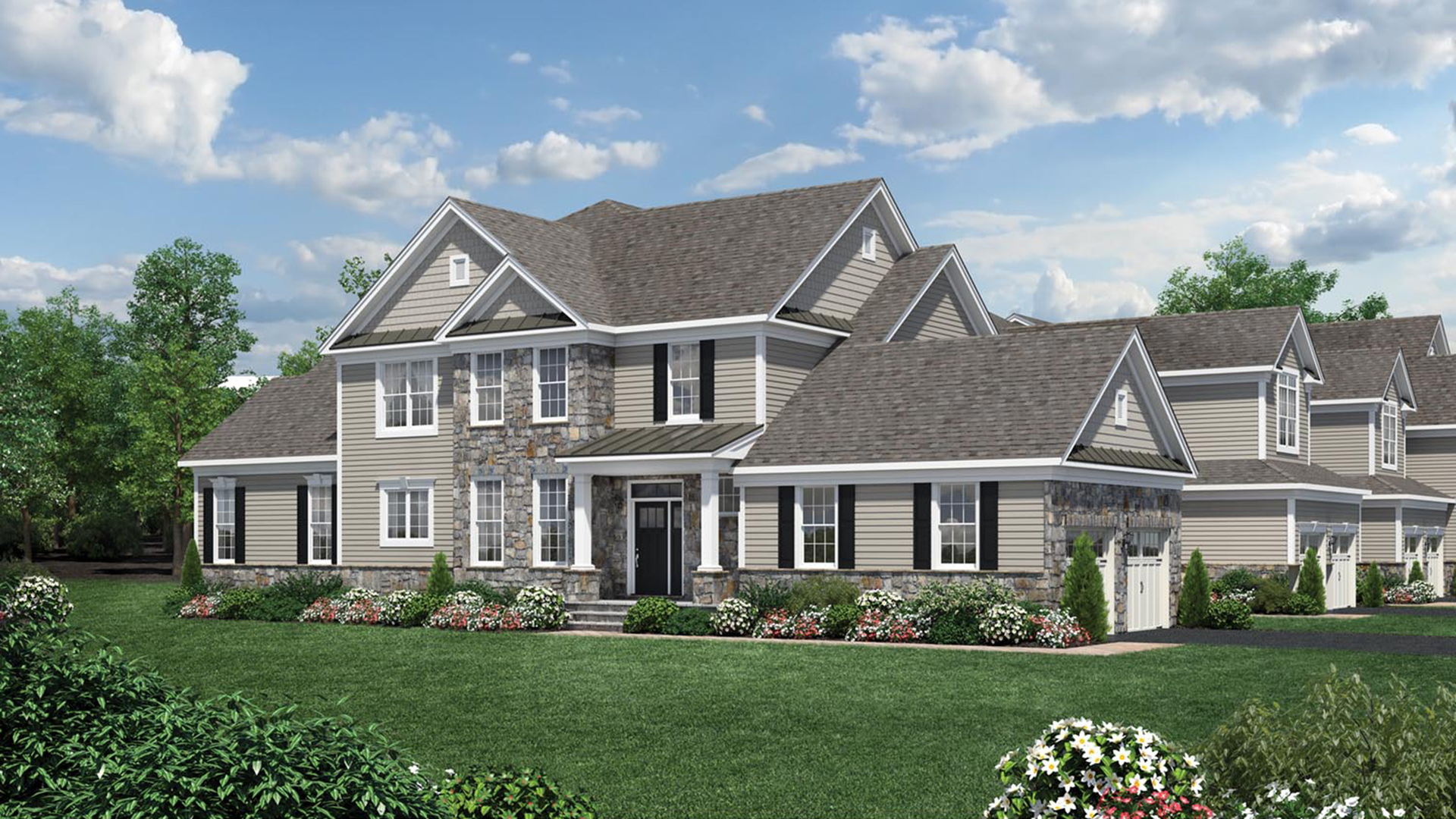 Reserve At Franklin Lakes Carriages Collection The Blair Home Design