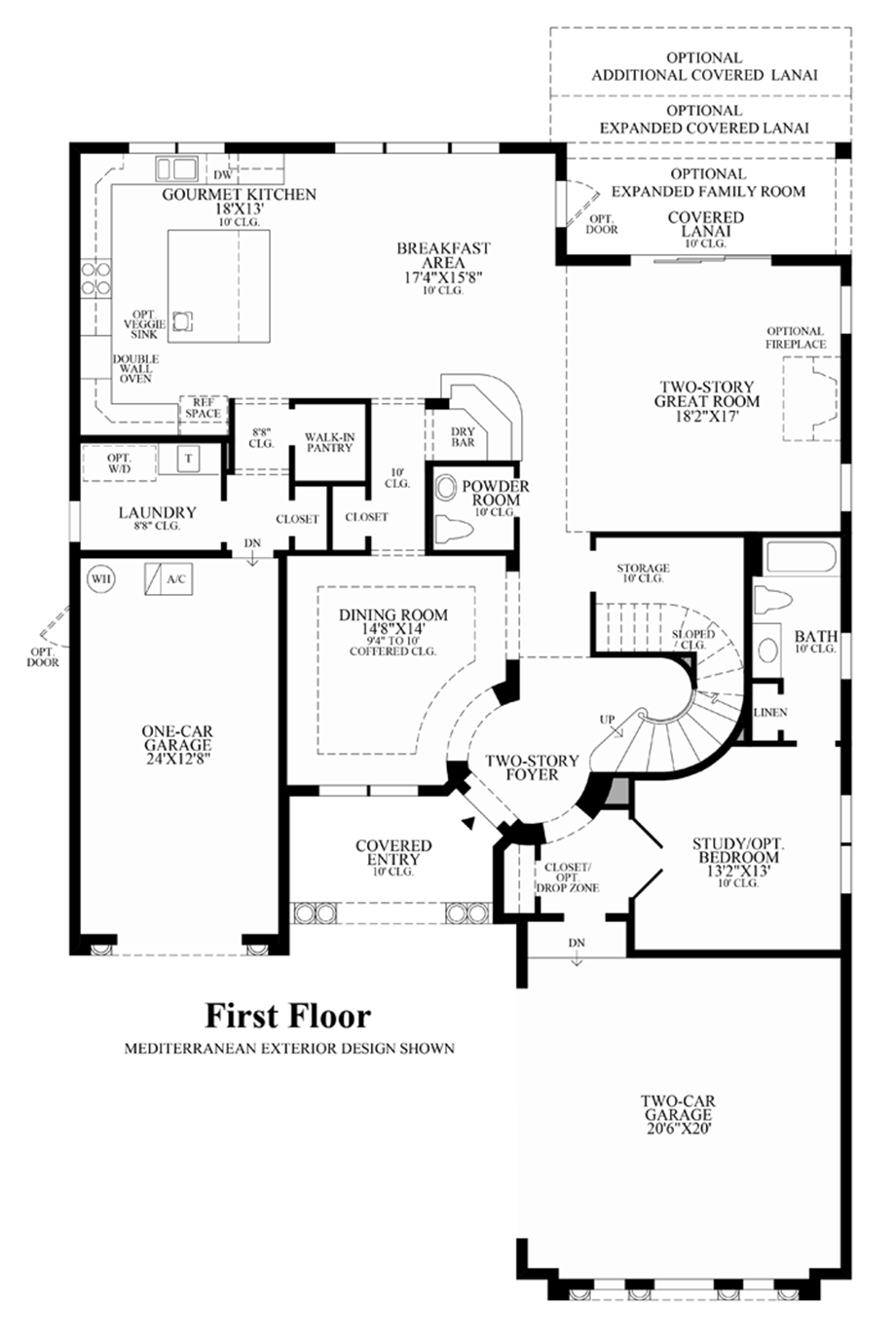 wci parkland golf and country club floor plans