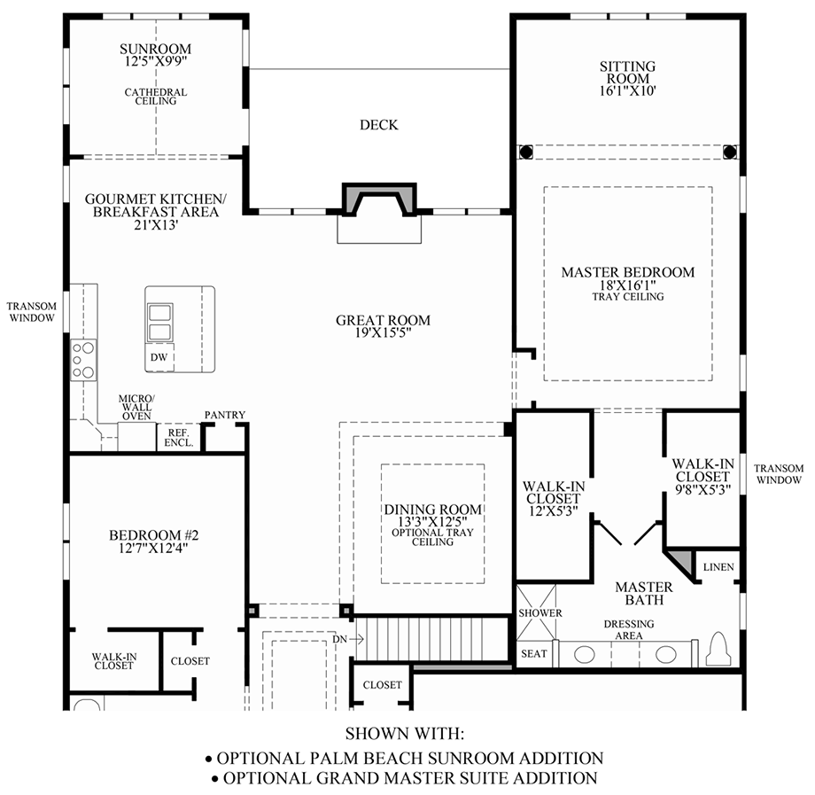 Sunroom addition floor plans for Sunroom floor plans
