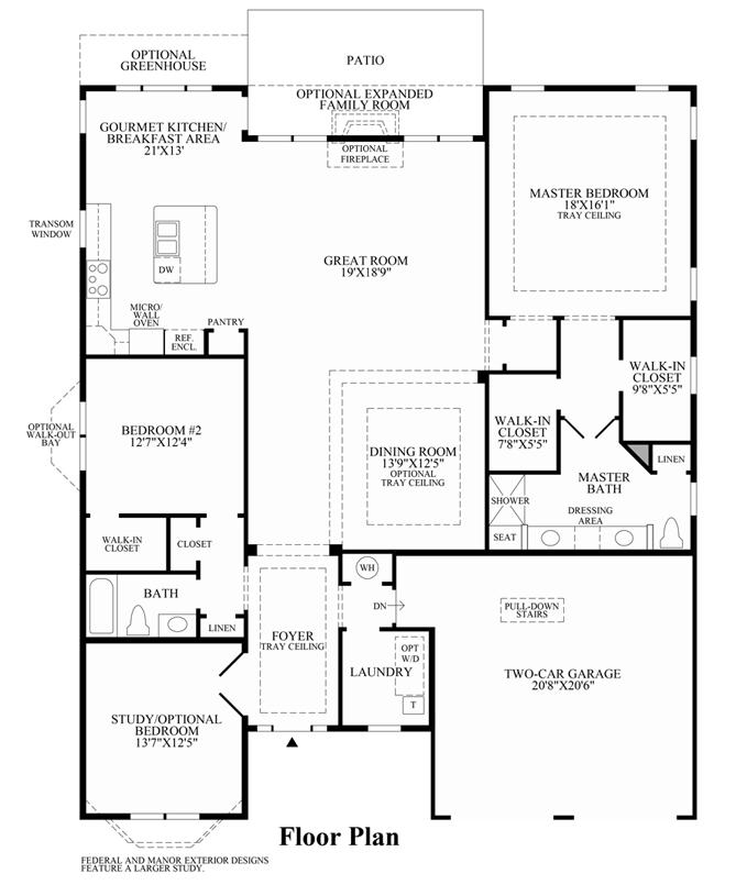 Bowan - Floor Plan