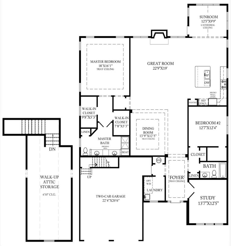 Bowan Aberdeen - Floor Plan