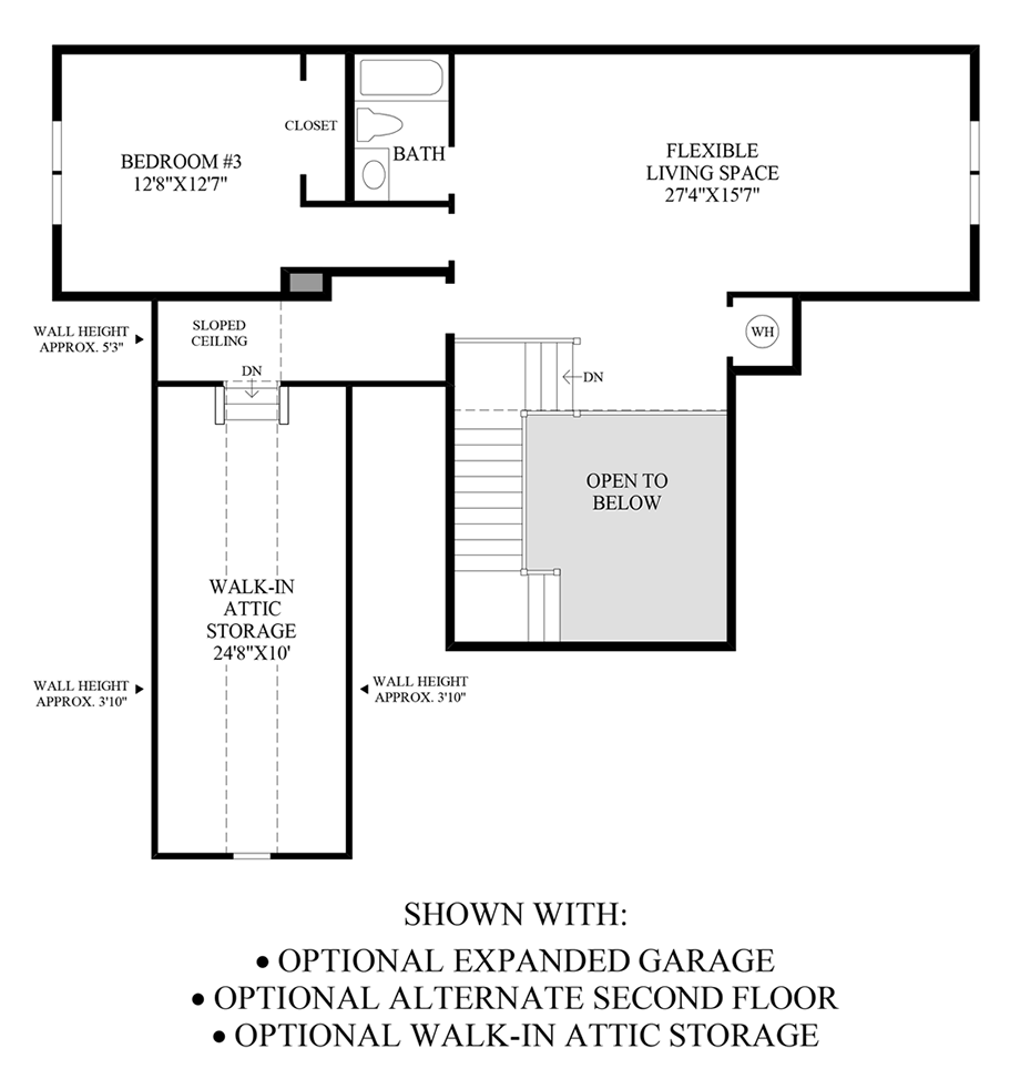 Optional Expanded Garage, Alternate 2nd Floor, Walk-Out Bay Window & Expanded Kitchen