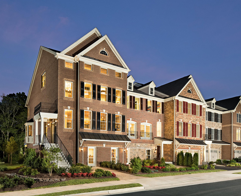 New Luxury Homes For Sale In Chantilly Va Avonlea Reserve