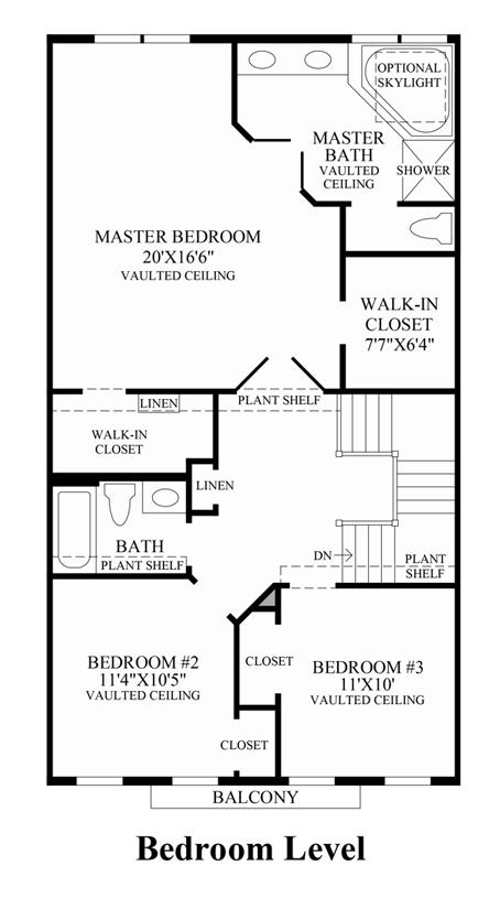 Bradbury - Bedroom Level