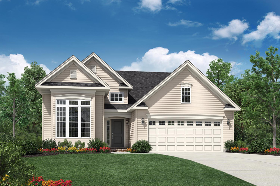 Regency at yardley the villa collection the braddock for Classic home villa home collection