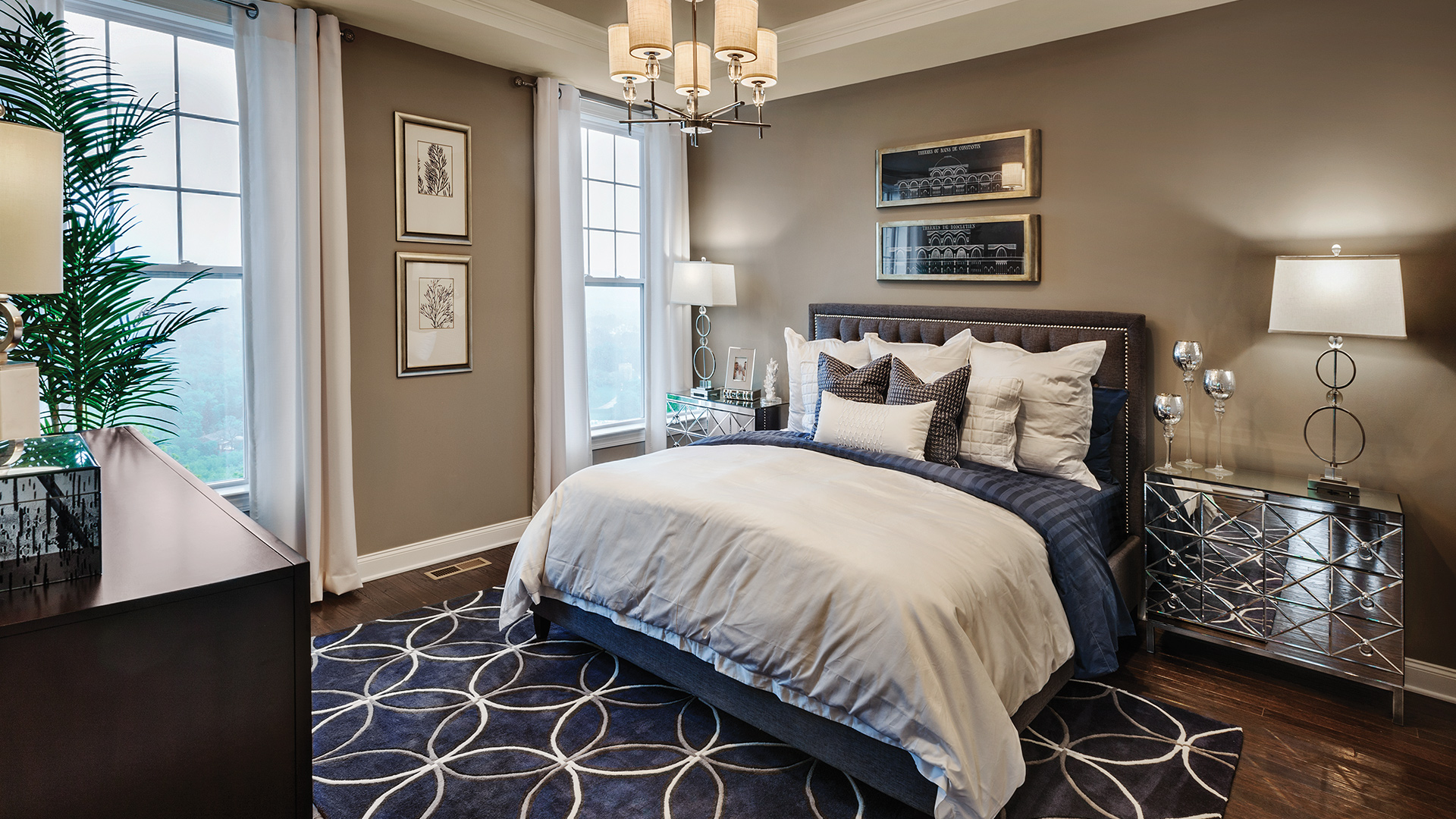 The summit at bethel quick delivery home brandeis heritage First floor master bedroom