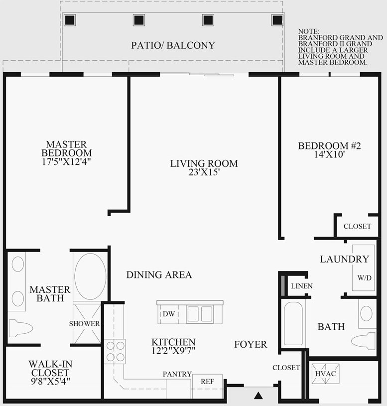 Branford - Floor Plan
