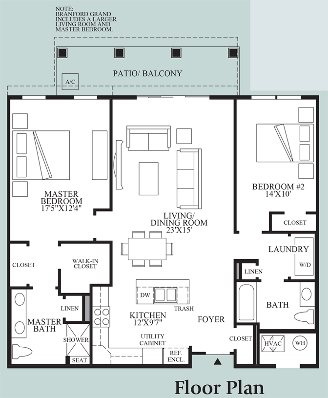 Branford - Floor Plan