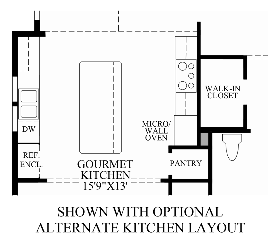 The summit at bethel the clearbrooke home design for Bethel kitchen designs